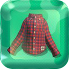 Red-Check Shirt